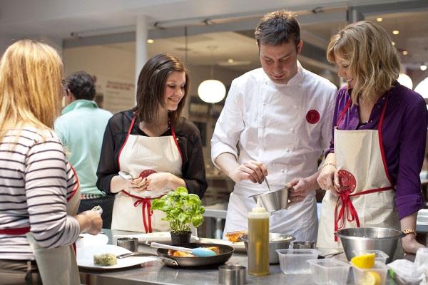 Rencontres cours de cuisine