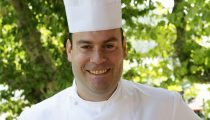 Cédric Boutroux, sympathique chef de la Brasserie l'Ouest