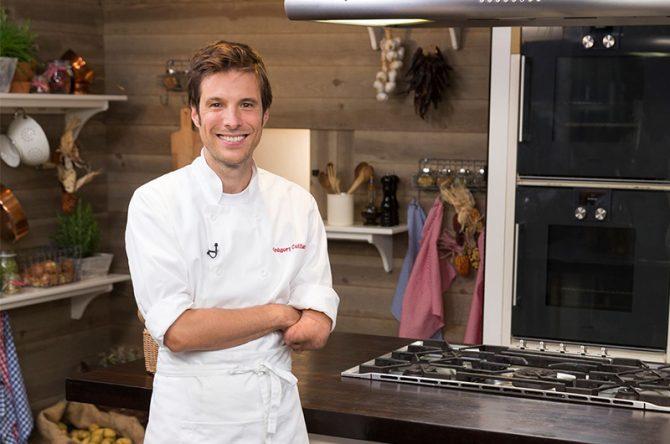 Grégory Cuilleron, cuisinier chouchou des Lyonnais