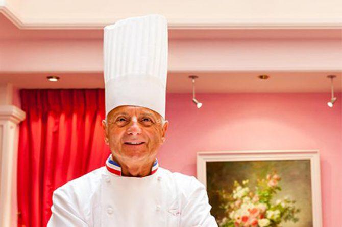 Pierre Orsi, figure emblématique de la gastronomie lyonnaise…